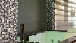 Geo Glass Square Mosaic Tile