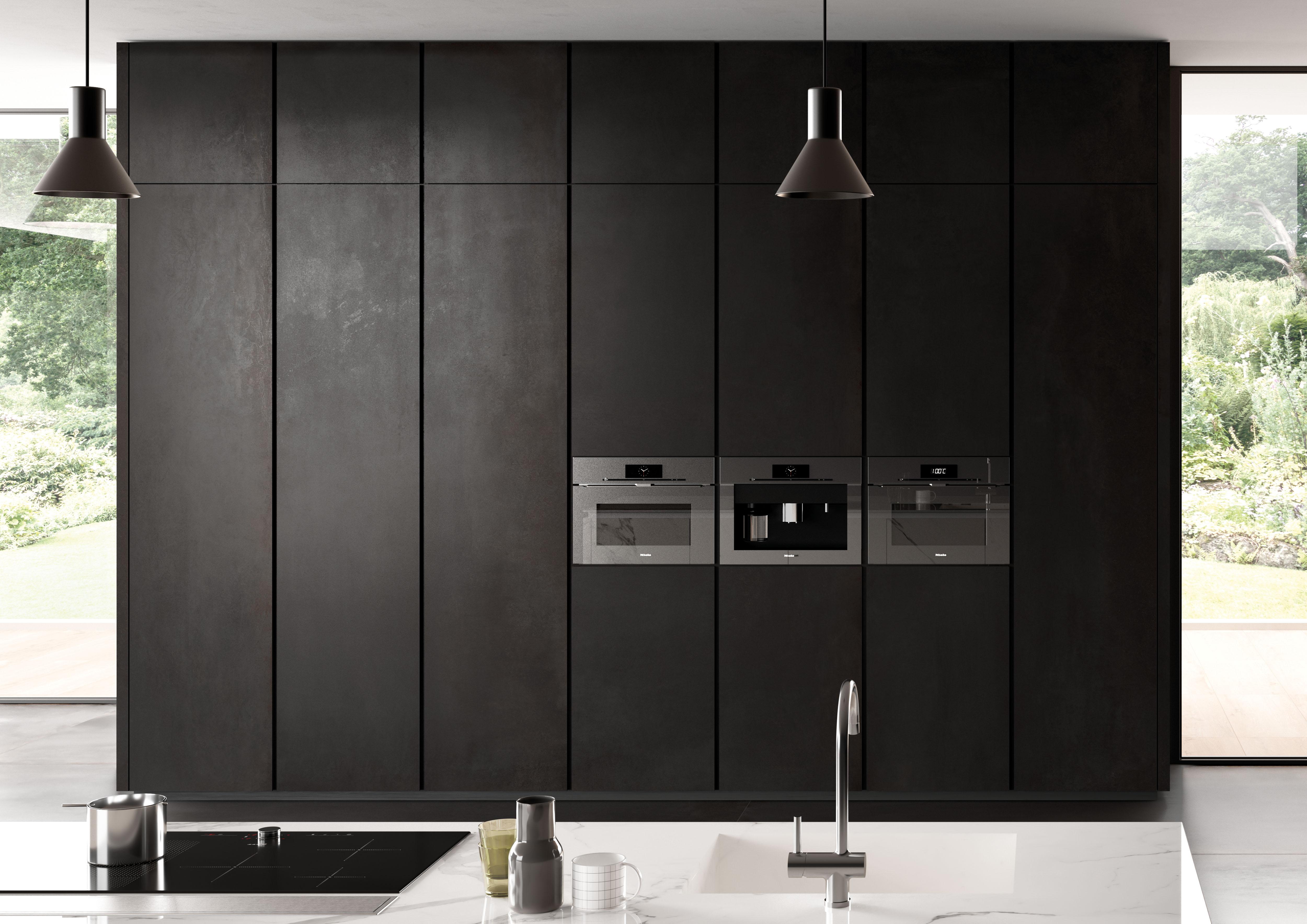 Metal line Iorn 6mm Kitchen doors
