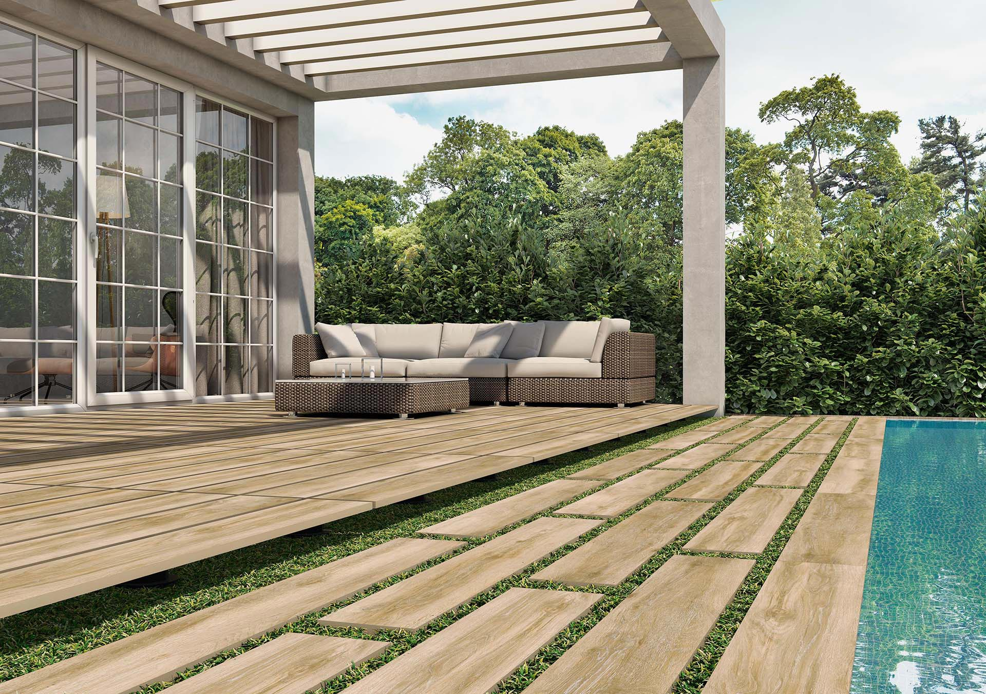 UPTILES - FOREVER ROBLE TILES BY TAU CERAMICA